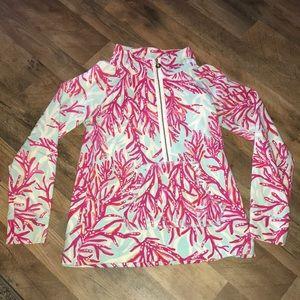 Lilly Pulitzer quarter zip pullover